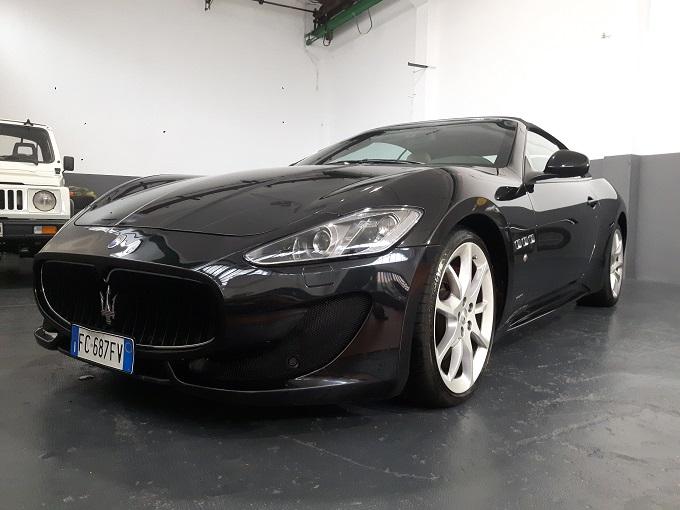 Maserati GranCabrio 4.7 V8 Sport UNICO PROPRIETARIO uff Italiana completo